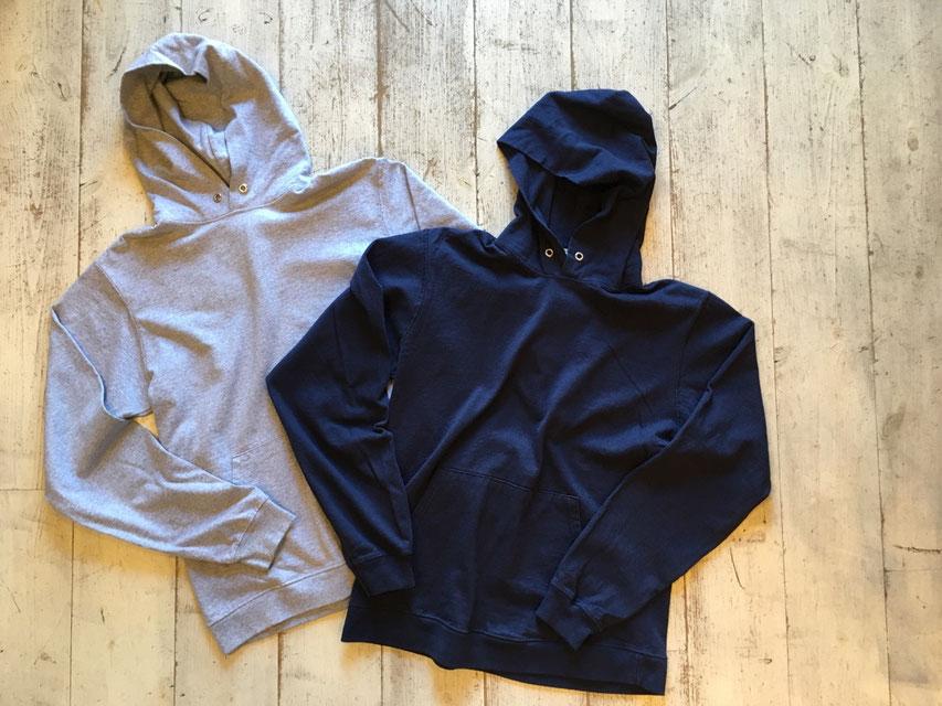 Goodwear(グッドウェア) LS Pullover Hood Tee 各¥9,800(+TAX)