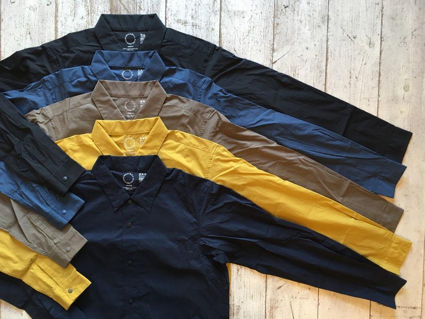 山と道(ヤマトミチ) UL Shirt 各¥12,000(+TAX)
