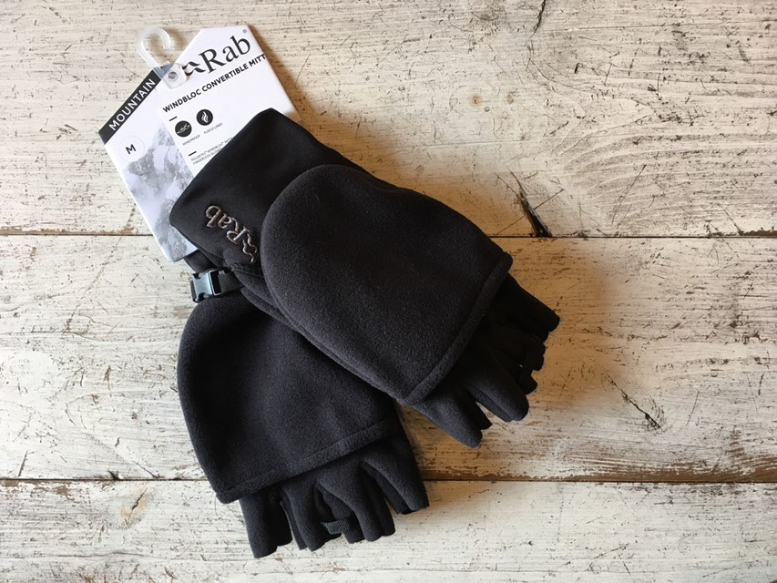 Rab(ラブ)Windbloc Convertible Mitt ¥5,500(+TAX)
