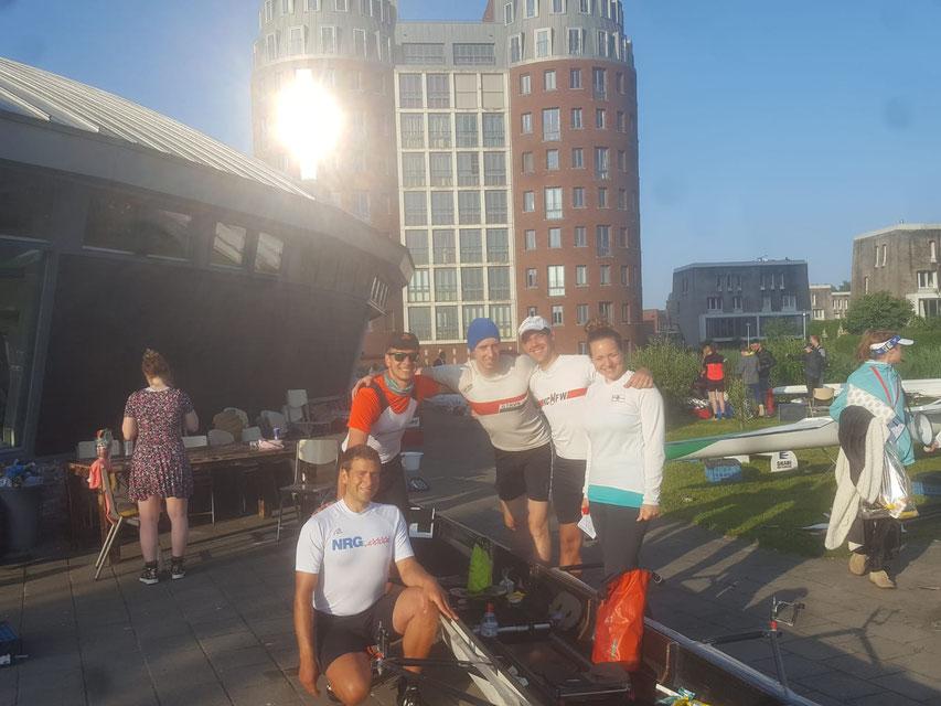 eNeRGy - Die Siegreiche Renngemeinschaft bei der Ringvaart - außerdem mit 8h00min55s Rekordhalter im C4x+
