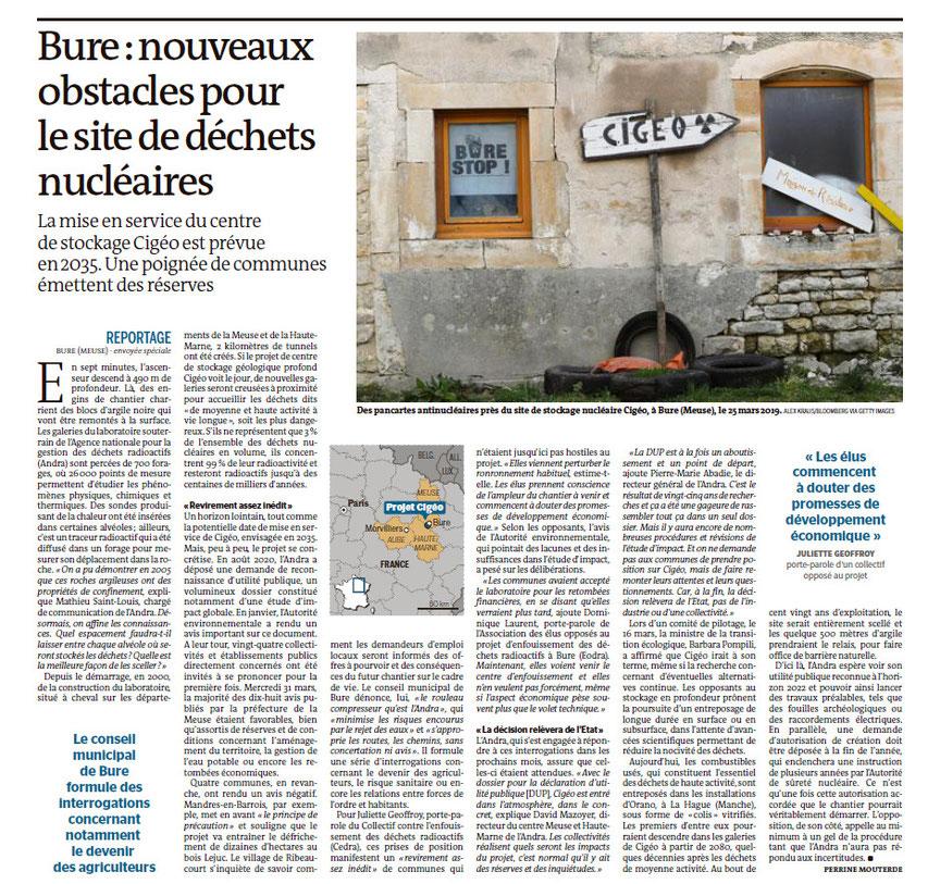 Le Monde, 1/04/2021