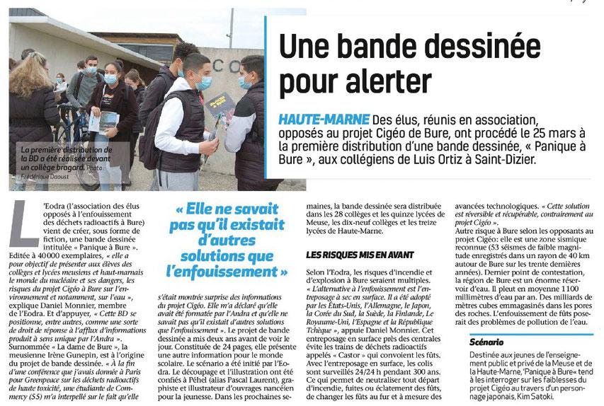 Voix de la Haute-Marne, 2/04/2021