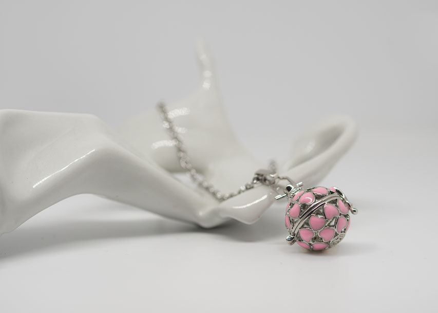 bola messicana fiori rosa per bambina