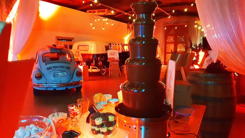 Adelaide chocolate fountain