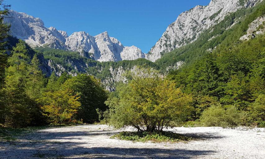 """Der Grintovec ist mit 2558 Meter der höchste Berg in den slowenischen """"Steiner Alpen"""""""