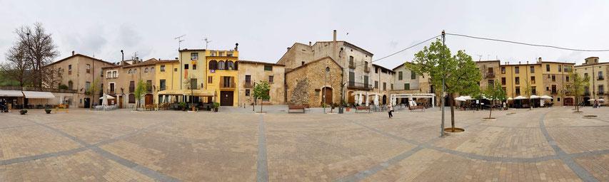Marktplatz von Besalu