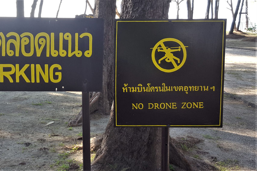 No Drone Zone Thailand - How to register your drone in Thailand