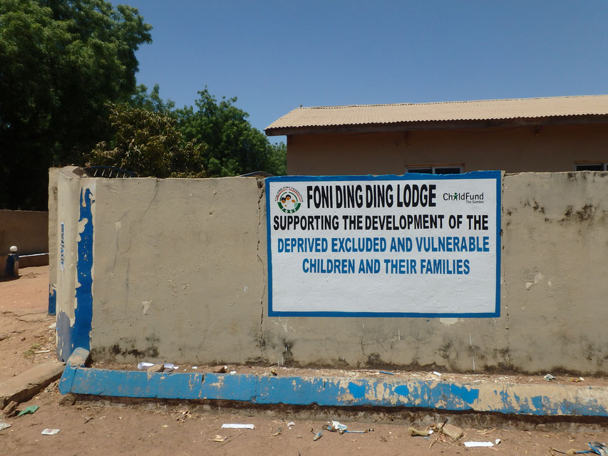 Bwiam, Foni Ding Ding Lodge, helping children in the Gambia