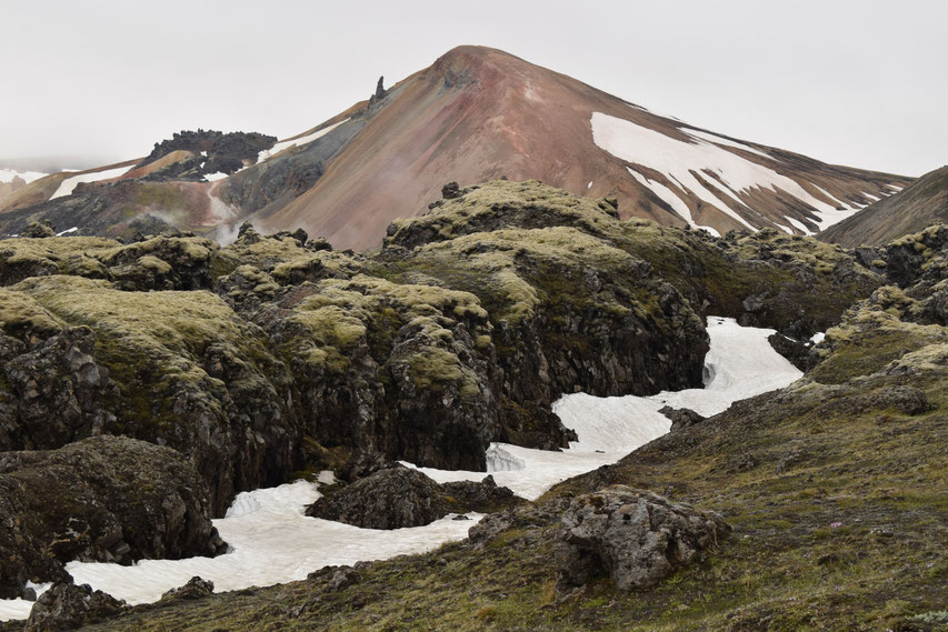 Brennisteinsalda, the colourful mountain, Landmannalaugar short hike