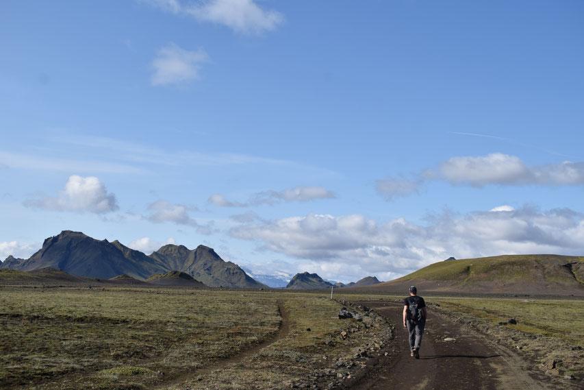 Laugavegur hiking trail Emstrur