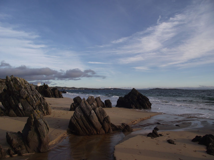Singing Sands, Isle of Islay, Inner Hebrides, Scotland.