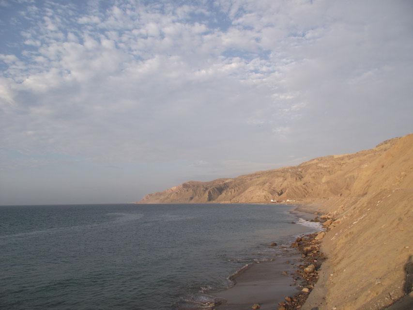 cliffs, Cabo Blanco, Peru
