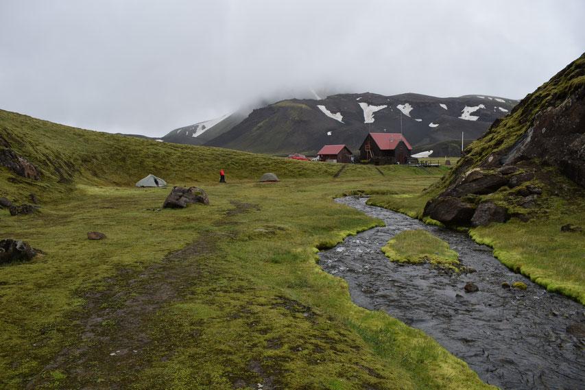 Strútskali camping site - Strútsstígur