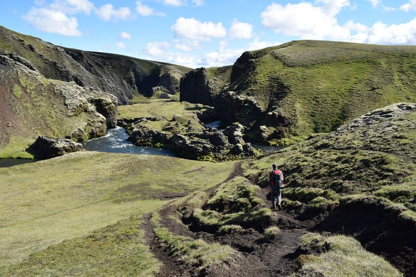 Strútsstígur hiking path