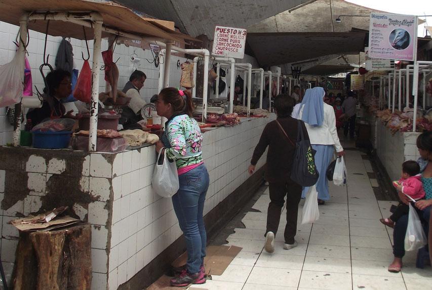 Chiclayo meat market
