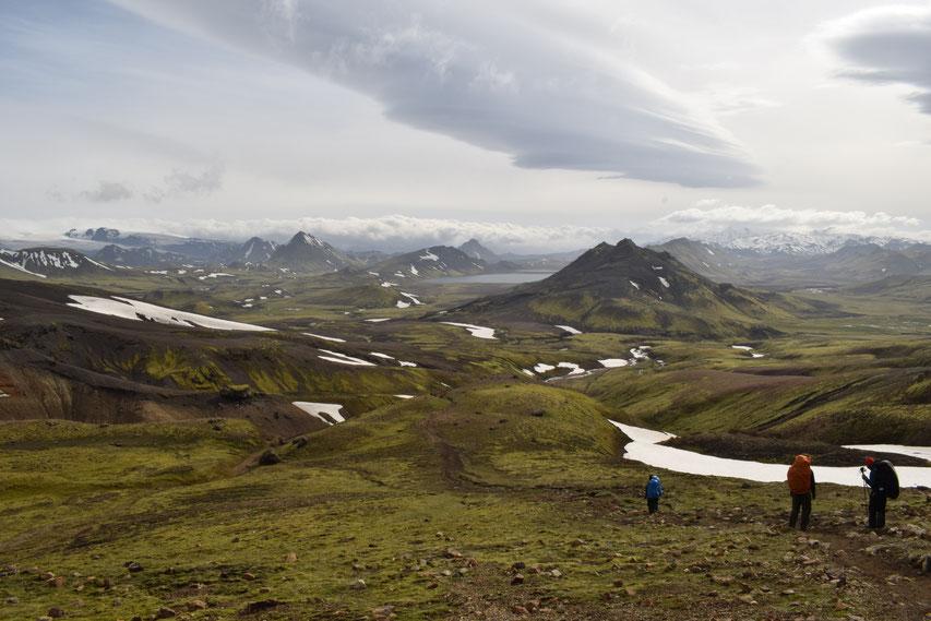 Álftavatn, on the Laugavegur in June