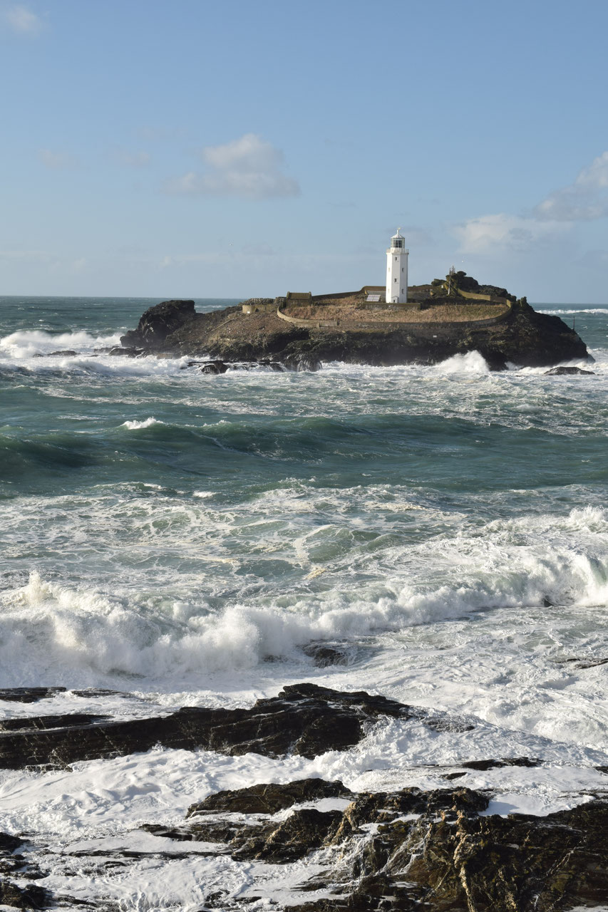 Godrevy lighthouse, Cornwall Coast Path