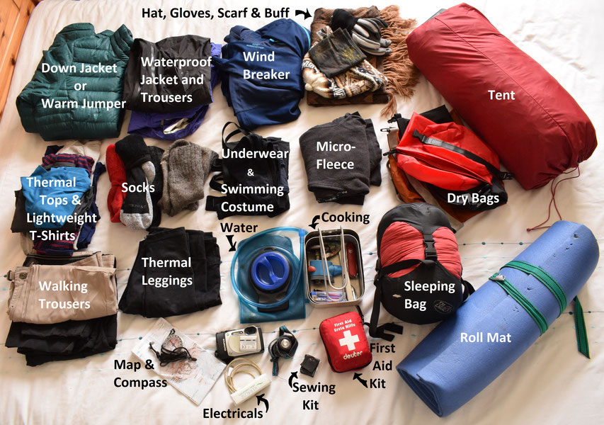 Laugavegur - what to pack.