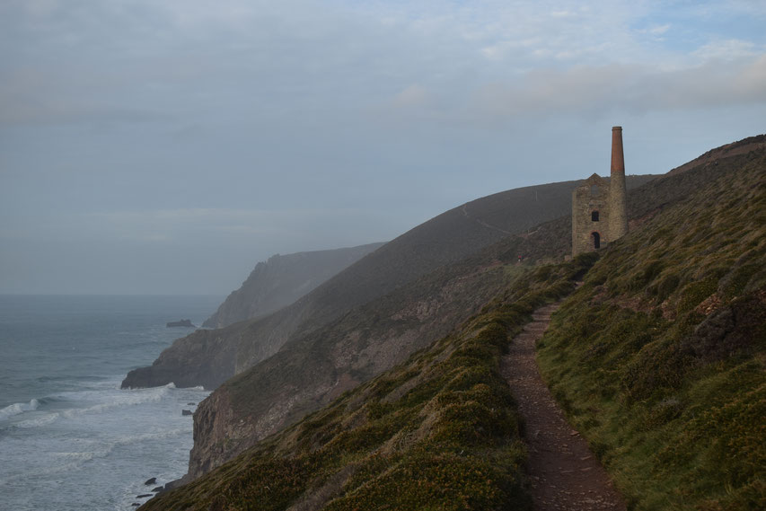 Wheal Coates, Cornwall Coast Path. Porthtowan to St Agnes