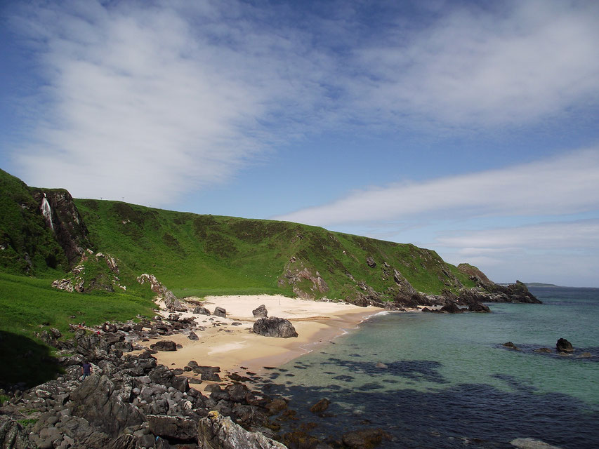 The Oa, sandy beach,  Islay, Scotland