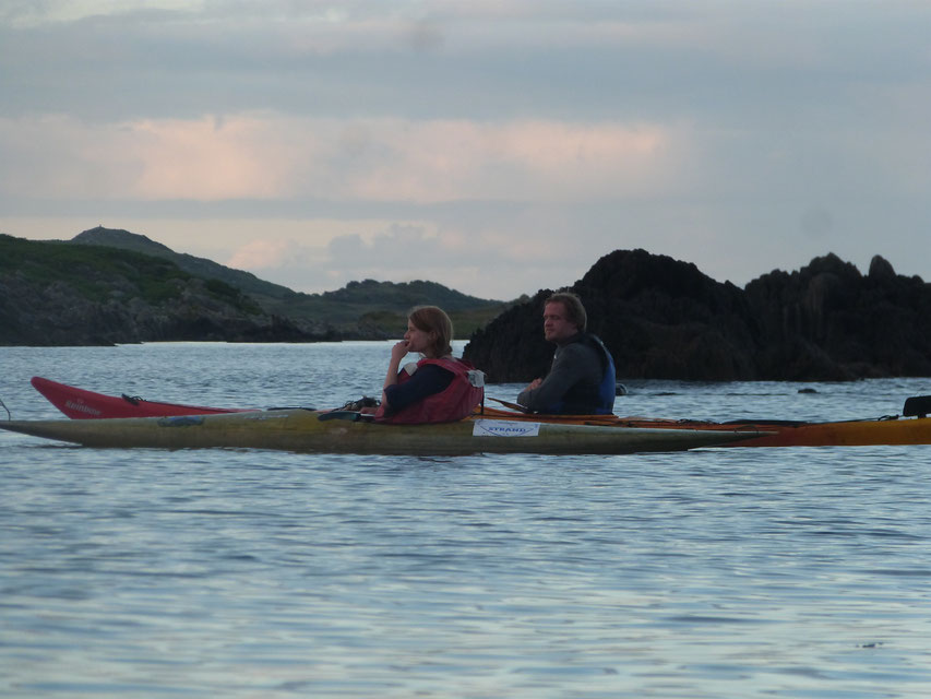 kayaking, Isle of Islay, Scotland