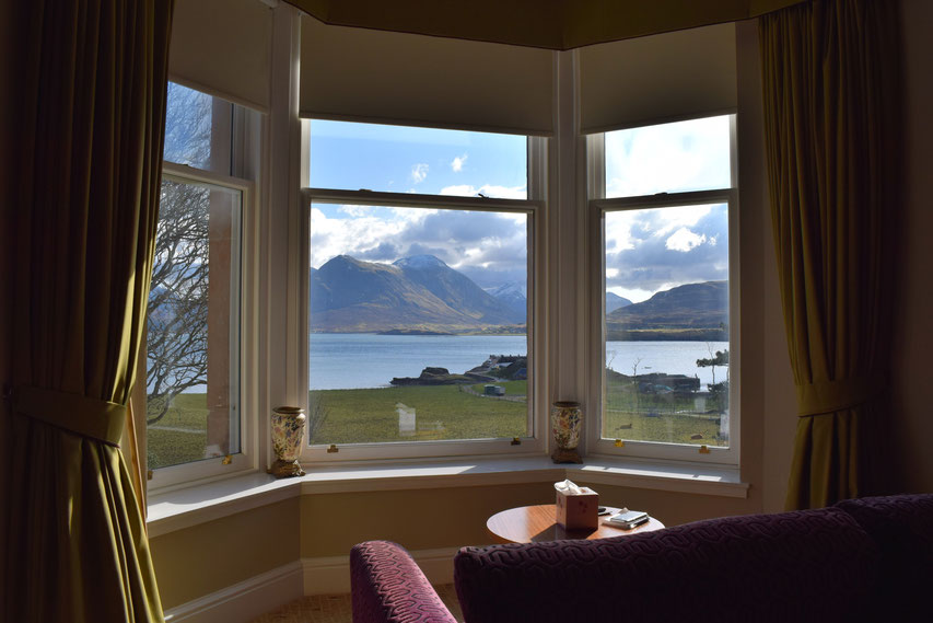 Raasay House, view