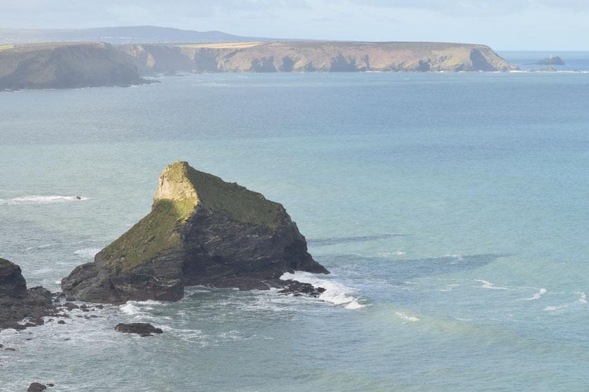 Rocks, Cornwall Coast Path