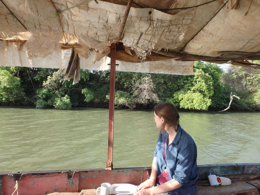Janjanbureh River Gambia