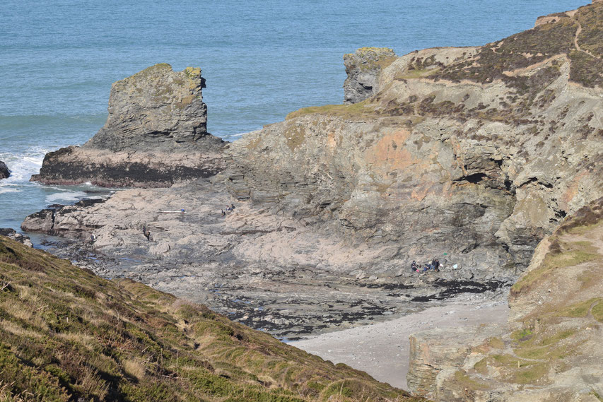 Trevellas Cove, Cornwall Coast Path