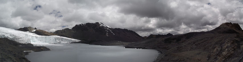 Nevado Pastorui glacier Huaraz Peru