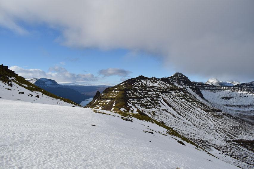 Berunestindur, hiking East Fjords