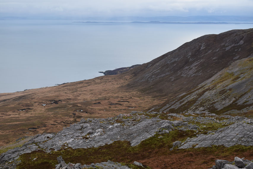 Beinn Bheigier, hiking on Islay, Scotland