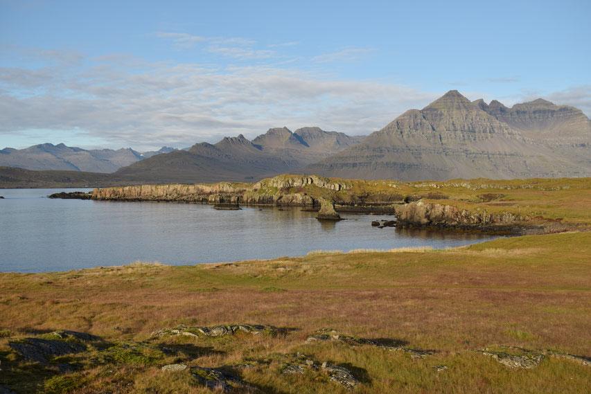 Sauðdalstindur, mountain near Havari, Djúpivogur, East Fjords