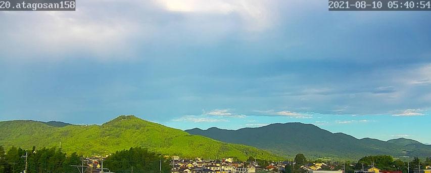 午前5時40分 いわま愛宕山