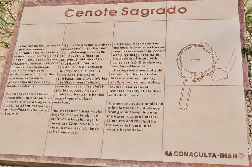 Chichen Itza Mexiko Maya Pyramiden Cenote