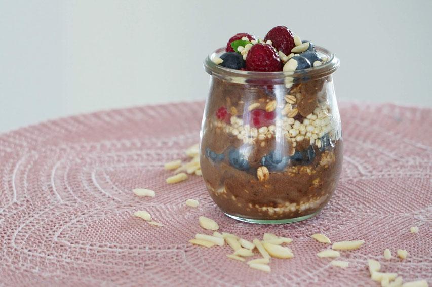Banana-Chocolate Nicecream | clean, schnell gemacht & ohne Zucker