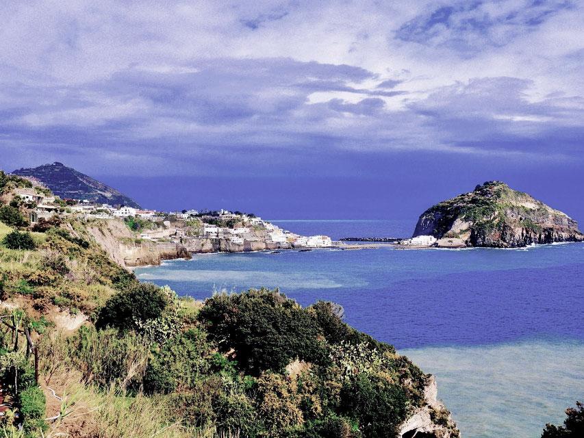 Italien, Insel Ischia, San Angelo