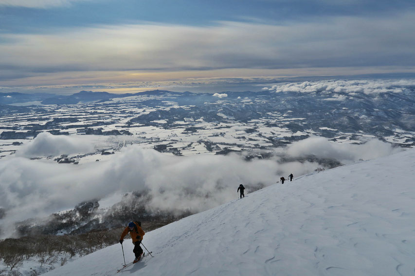 Japan-backcountry -ski-guide-Mt-Yotei