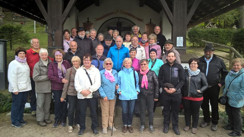 Seniorengruppe aus Oberammergau Bayern