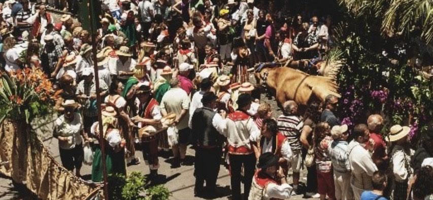 Romeria Festival, Teneriffa, Casa Madera