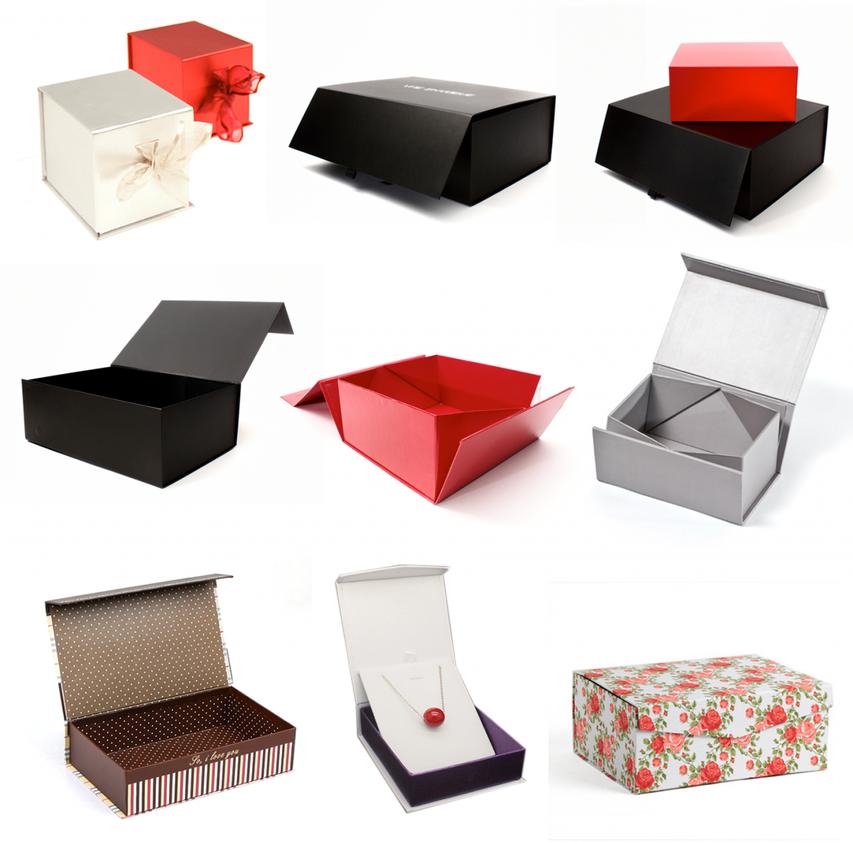 Geschenkbox mit Magnetverschluss / Magnetbox