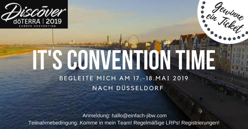 Komme in mein Team und Gewinne ein dōTERRA Convention Ticket für Düsseldorf 2019!