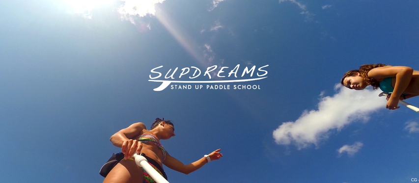 cours de stand up paddle à Hendaye