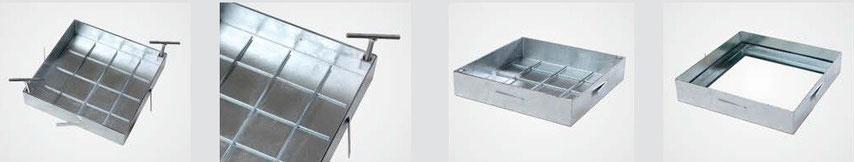 Heika-Ground System PRO galvanized steel