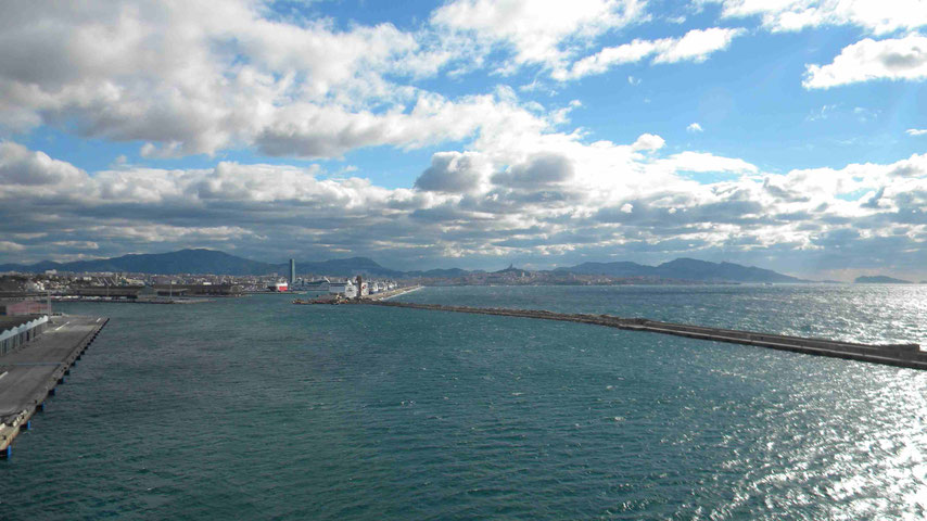 Einfahrt zum Provence Cruise Terminal