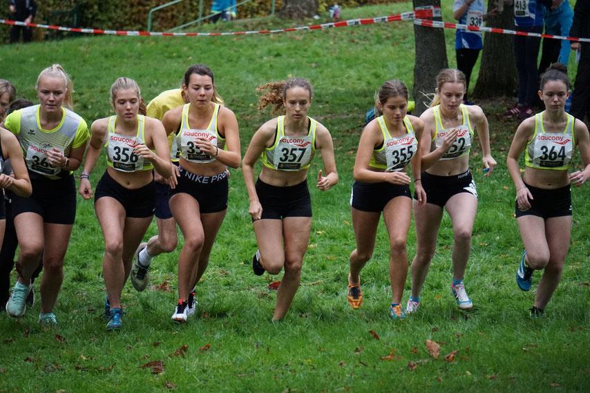 Start der weiblichen Jugend U18&U20 - Foto: privat