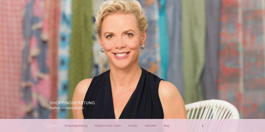 Business Fotoshooting: Eine Fotoproduktion und Businessfotos  für Shoppingberatung Kathrin Scheibe-Müller, München
