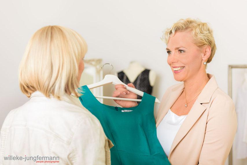 Business Fotografie München : Eine Fotoproduktion und Businessfoto  für Shoppingberatung Kathrin Scheibe-Müller