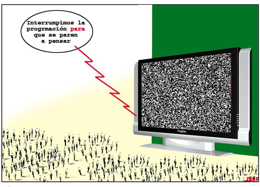 internet, televisión, periódicos. cartooningja.jimdo.com