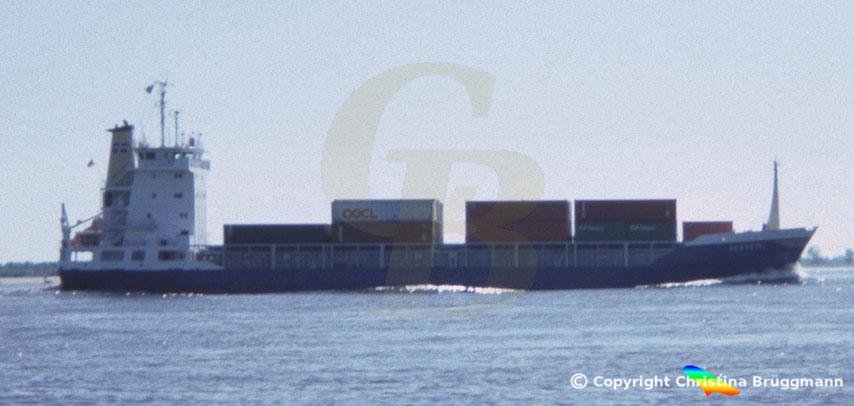 Container-Feederschiff SEEVETAL, Sietas-Typ 111b, 1986
